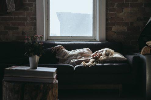 Un sofá bien cómodo